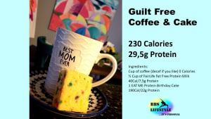 Guilt Free Coffee and Cake