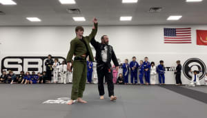 Youth Brazilian Jiu-Jitsu Belt Promotion at Spartan Fitness MMA Birmingham, AL