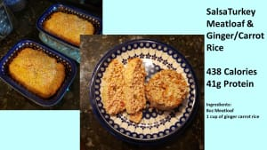 Salsa Turkey Meatloaf (simple Nutrition)