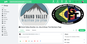 Check out our NEW Members Page on Gab!