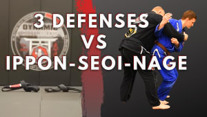 3 Ippon-seoi-nage Defenses