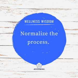 Normalize the process.