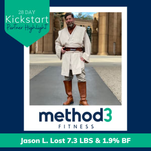 Method3 Fitness Partner Highlight: Jason L.
