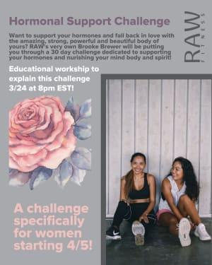 30 Day Women's Hormone Challenge