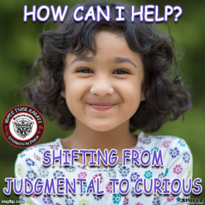 How Can I Help?  Shifting from Judgmental to Curious