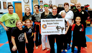Welcome our new future black belt MALISHA! we are so happy you are now part of FMAC