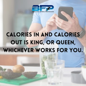 Calories in and Calories out is king, or queen, whichever works for you.