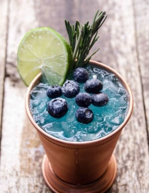 New Summer Git Drink - TriMax Blue Mule