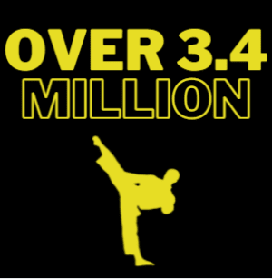 Over 3.4 Million Martial Artists!