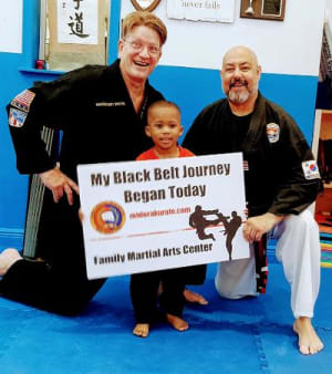 Benefits of martial arts for 5 and 6 year olds