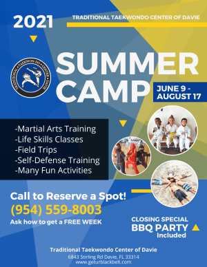 Summer Camp 2021 is here!