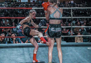 From Cheerleading To Professional Muay Thai: The Story Of Lucy Deadman