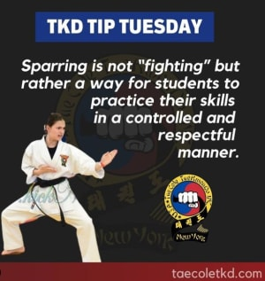 TKD Tip Tuesday: Sparring