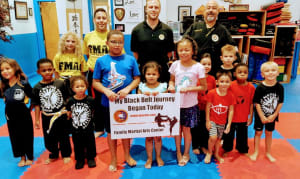 The Family Martial Arts Center would like to welcome Breanna ,Destiny and Tra