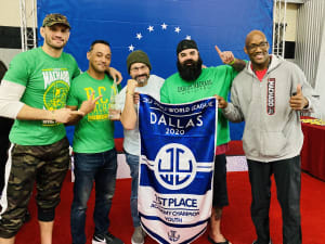 #1 In Dallas Fort Worth - Carlos Machado Jiu-Jitsu (Team RCJ Machado) Takes 1st Place in Jiu Jitsu World League Dallas 2/20/2020