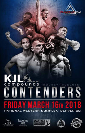 """Paramount MMA • DATE CHANGE • entire fight card is moving FROM 2/9 to 3/16 • same fighters • Derek """"Switch"""" Brenon (main event), Austin Jones, Jordan Titoni, MarQuel Mederos and Youssef Zalal (co-main event) • same venue!"""
