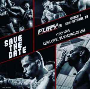 """Kids Mixed Martial Arts in Englewood - Factory X Muay Thai - Chris """"The Lefty"""" Lopez's first fight as an FX'er is a title fight booked with FURY Fighting Championship 3/4!"""