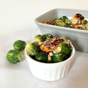 Personal Training in Concord - Individual Fitness - Brussels Sprouts Casserole with Chicken and Walnuts