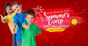 in Levittown - Amerikick Martial Arts - 2018 Summer Camp