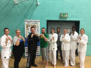 Kids Martial Arts in Leicester - MG Black Belt Academy -  Parents getting involved -Kids martial arts in Leicester