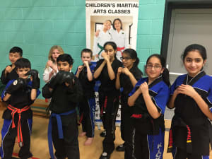 Kids Martial Arts in Leicester - MG Black Belt Academy -  Kids martial arts in Leicester -Tip test coming up
