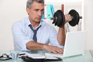 Can't hit the gym today? Sneak in your workout at work!