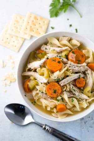 Personal Training in Concord - Individual Fitness - Slow Cooker Hearty Chicken Noodle Soup
