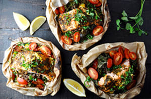 Recipe of the Week: Salmon and Lentil Packets