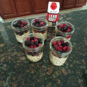 Lean Body Overnight Oats