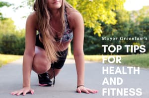 Mayor Greenlaw's Top Tips for Health and Fitness - RARE Crossfit Fredericksburg, Spotsylvania, and Stafford's premier CrossFit Facility!