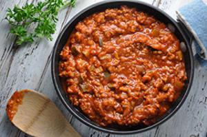 Recipe of the Week: Ground Turkey Spaghetti Sauce