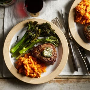 Personal Training in Concord - Individual Fitness - Filet Mignon for Two with Sweet Potato Mash