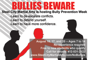 Bully Prevention Week FAQ