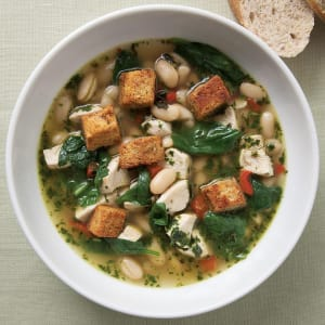Personal Training in Concord - Individual Fitness - Chicken & Spinach Soup with  Fresh Pesto