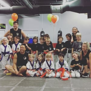 Kids Martial Arts in Boulder - Tran's Martial Arts And Fitness Center - Congratulations Lil Dragons!
