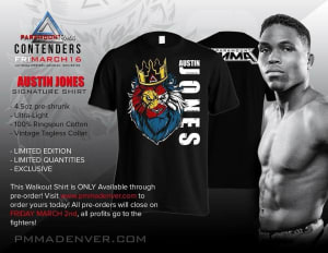 "Kids Mixed Martial Arts in Englewood - Factory X Muay Thai - 11 Days left to get your Exclusive Paramount MMA T-Shirts to support Austin, Derek ""Switch"" Brenon and Youssef Zalal!!! These are ONLY available through Pre-Order and Pre-Order closes on Friday March 2nd!! Visit www.pmmadenver.com to order yours today! All profits go directly to the fighters!"