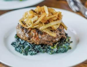Personal Training  in Los Gatos - Mint Condition Fitness - Recipe Of The Week: Paleo Cajun Burgers with Caramelized Onions