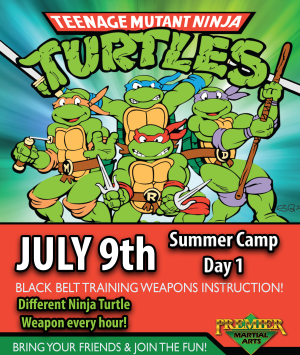 in Rhode Island - Premier Martial Arts  - July 2018 Kickin' Summer Camp