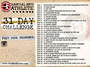 Kids Karate in Scottsdale - Goshin Karate & Judo Academy - 31 Day Challenge
