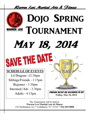 SPRING TOURNAMENT IN THE FIVE TOWNS