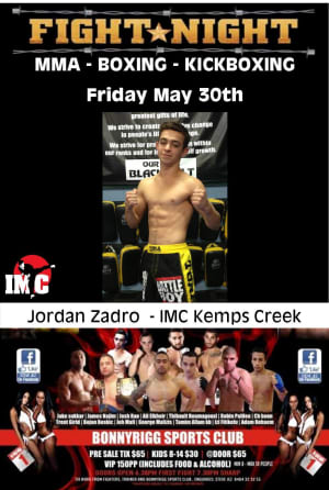 Kids Karate in Prestons and Liverpool - IMC Liverpool - Fight Night