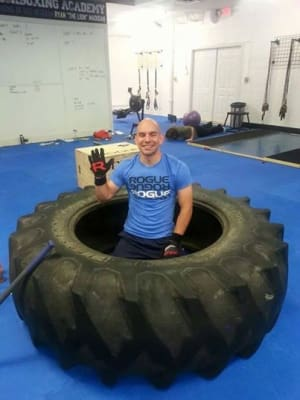 CrossFit in Stow - Rampant CrossFit - Best of Luck to Stephen Vogel