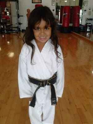 Kids Martial Arts in Davie and Cooper City - Traditional Taekwon-Do Center Of Davie - Kids Martial Arts Classes In Davie: Congratulations Jesenia
