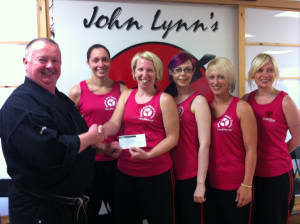 Kids Karate in Rhyl - John Lynns BBA - Race For Life