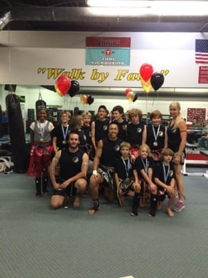 Kids Martial Arts in Boulder - Tran's Martial Arts And Fitness Center - Congrats Junior Muay Thai Students