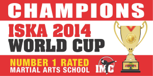 Kids Martial Arts  in St Clair, Kemps Creek & Hoxton Park - International Martial Arts Centres - ISKA WORLD CUP 2014 WORLD CHAMPIONS