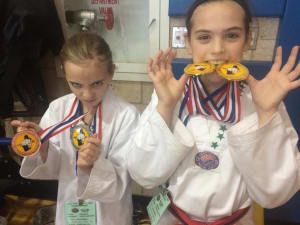 Franklin Tae Kwon-Do Competition Team Medals at Tournament