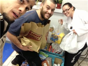 Franklin Martial Arts Bellingham Milford Franklin Food Drive