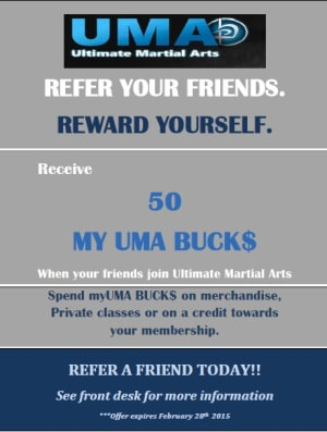 Kids Martial Arts in Chicago - Ultimate Martial Arts - New Referral Program
