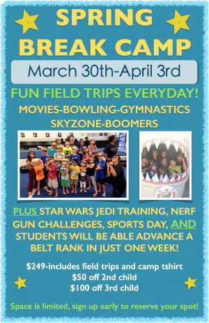 Kids Martial Arts in Escondido - East West MMA SoCal - Escondido Kids Spring Break Camp